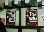 2008年11月17日(月)THE WHO Live at 武道館〜(2)
